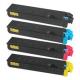 Toner Laserjet kompatibël me ngjyra e ndertuar e re, e garantuar për Kyocera e verdhë TK520Y